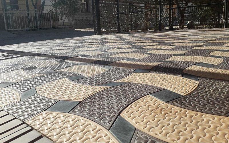 Фактурная тротуарная плитка